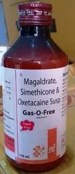 Magaldrate 400mg, Simethicone 20mg per 5mL