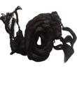 Men Silk Black Color Dupatta Stole Chunni For Sherwani Kurta With Tassles From India