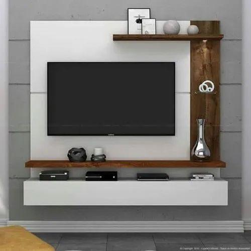 Gayatri Furniture Brown Wooden TV Cabinet, Rs 12500 /unit Gayatri Furniture  | ID: 14420530812