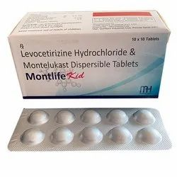 Levocetirizine Hydrochloride and Montelukast Dispersible Tablets
