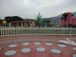 Garden UPVC Fencing