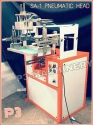 Screen Printing Machine For Round Surfaces