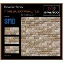 Sparco Gloss Exterior Ceramic Wall Tile, Thickness: 5-10 Mm, Size: 300x600 Mm