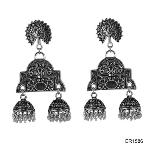 Oxidized  Earrings Jewellery