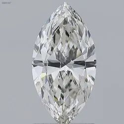 Marquise Cut 1.09ct IGI Certified Diamond G VVS2  Lab Grown Type2A