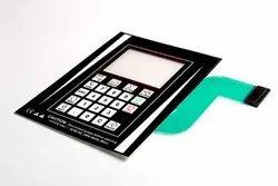 Good Quality Flexible Membrane Keypad for CNC Machining