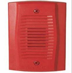 Plastic Red System Sensor Hooter