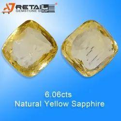 Ceylone Yellow Sapphire Certified Buy IGI-GTL