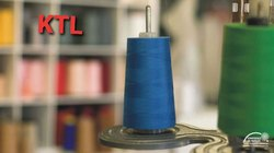 Spun Dyed Polyester Thread, For Industrial, Packaging Type: Carton
