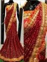 Ladies Marwadi Designer Saree