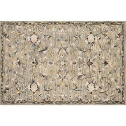 Silk Printed Designer Handmade Carpet