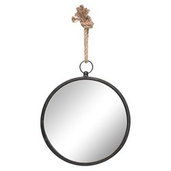 Wall Mirror With Rope Round