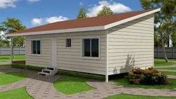 Pre Fabricated Steel Cottage