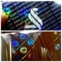 PVC Card Hologram Overlays for ID Card Printers