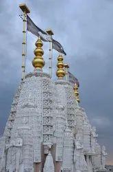 Global grc White GRC /GFRC Temple, Size: As Pr Drawing
