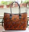 Ladies Cotton Printed Hand Bags