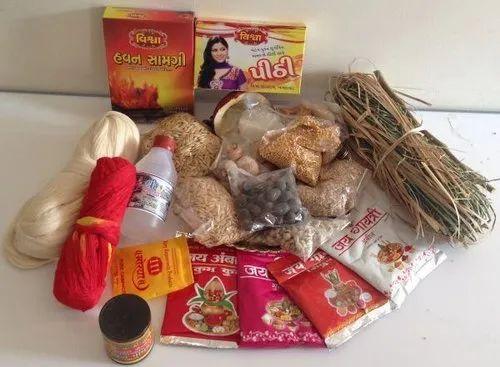 Gujarati Lagna Vidhi Samagri Package: Gj0003