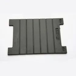 Grooved Rubber Sole Plates Rail Pad