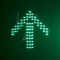 Green LED Traffic Signal Arrow