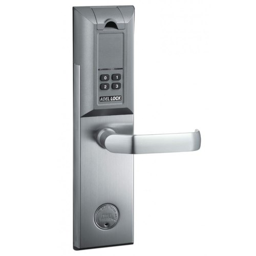 Elegant Adel Fingerprint and Car Lock, Nickel, Digital Keypad