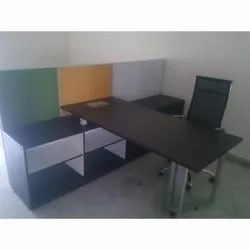 Modular Office Table Cubicle Cum Storage With Chair