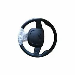 Black PP Mahindra Steering Wheel