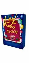 Board Printed HAPPY BIRTHDAY RETURN GIFT BAGS, Capacity: 3kgs