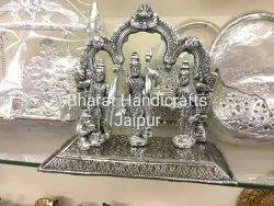 Silver Plated Ram darbar