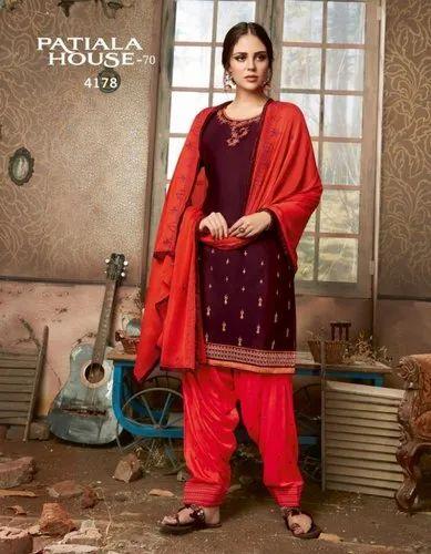 b54e6238e2 Casual Wear Fancy Patiala Salwar Suits, Rs 799 /piece, Maajisa Group ...
