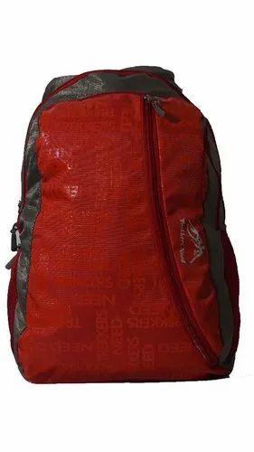 1beeb50a7b PVC Red Trekkers Backpack Bag, Rs 250 /piece, Trekkers Need | ID ...