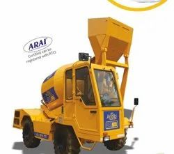 Diesel Engine Self Loading Mixer Model 4TT, For Used To Mix Concrete, Drum Capacity: 4 cu m