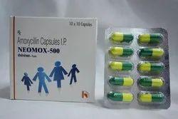 Amoxicillin Trihydrate Capsule, Prescription, Treatment: Bacterial Infections