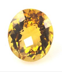 Natural Sunehla Stone Citrine  With Gemstone