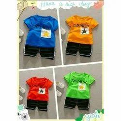 Unisex Cotton Lycra Kids Clothing Sets