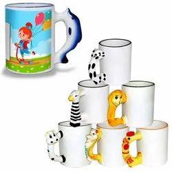 Animal Handle Mug Printing
