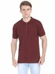 Gents Collar Neck Tshirts Suppliers