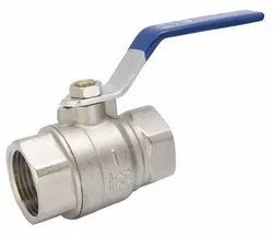 Medium Pressure Threaded Lever Type SS Ball Valve