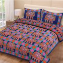 Animal Print King Size Cotton Bed Sheets