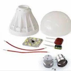 5W Plastic LED Bulb Raw Material