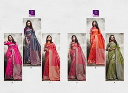 Shangrila Vedanshi Silk Festive Wear Sarees Collection