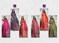 Shangrila Vedanshi Silk Festive Wear Sarees Collection