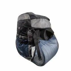 Eleven Sports Black And Grey Hijecken Bag Pack