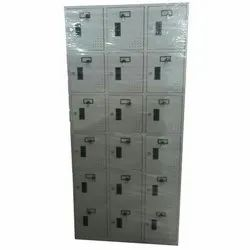 Grey Industrial Locker Powder coated