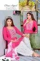Patiyala Rose Vol-2 Rayon Heavy Work Ready Made Top Patiyala With Dupatta Collection