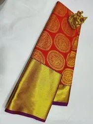 Semi Bridal Silk Sarees