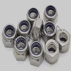 SS 316 Nylock Self Locking Nuts