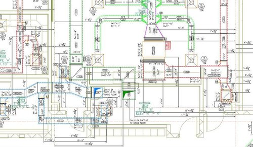 HVAC Duct Shop Drawings - CAD Outsourcing Services, Whole world, | ID:  22133307248 | Hvac Drawing Company |  | IndiaMART