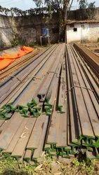 MS Natural Steel rail Pole