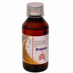 Bromhexine Hydrochloride, Terbutaline Sulphate, Guaiphenesin And Menthol Syrup