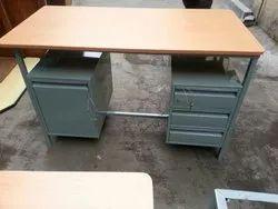 Kohinoor Furniture Ms KF-OT-23 Mild Steel Office Table, For Office,College